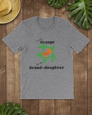 I wear Orange for my Grand-daughter b Classic T-Shirt lifestyle-mens-crewneck-front-18