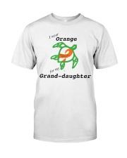 I wear Orange for my Grand-daughter b Premium Fit Mens Tee thumbnail
