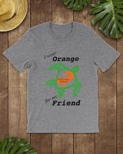 I wear Orange for my Friend b Classic T-Shirt lifestyle-mens-crewneck-front-18