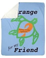 """I wear Orange for my Friend b Sherpa Fleece Blanket - 50"""" x 60"""" thumbnail"""
