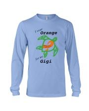 I wear Orange for my Gigi b Long Sleeve Tee thumbnail