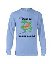 I wear Orange for my Girlfriend b Long Sleeve Tee thumbnail