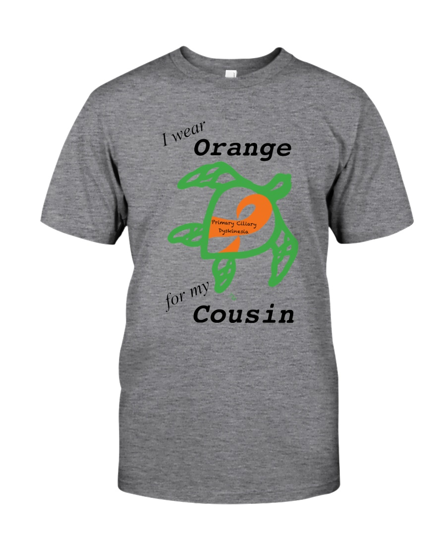 I wear Orange for my Cousin b Classic T-Shirt
