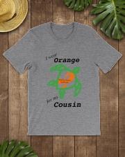 I wear Orange for my Cousin b Classic T-Shirt lifestyle-mens-crewneck-front-18