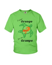 I wear Orange for my Gramps b Youth T-Shirt thumbnail