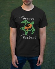 I wear Orange for my Husband Classic T-Shirt apparel-classic-tshirt-lifestyle-front-42