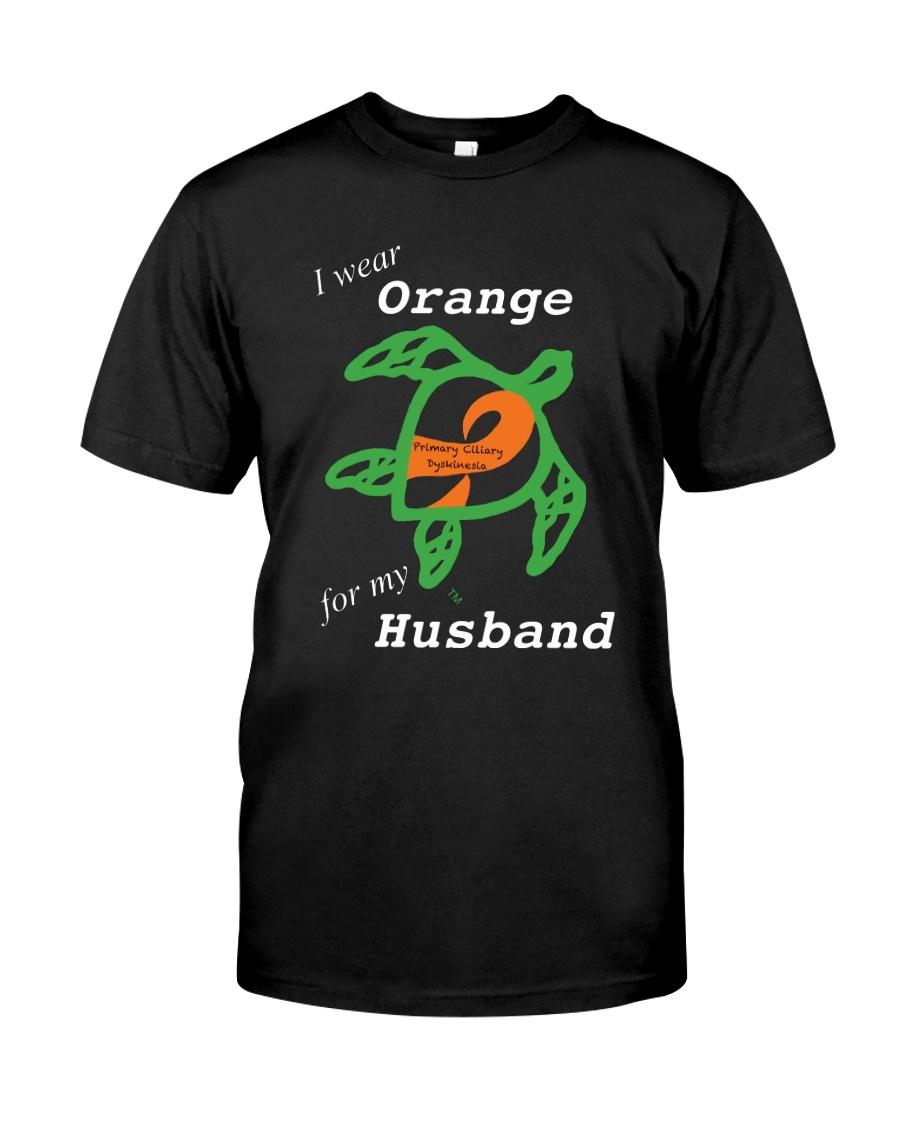 I wear Orange for my Husband Classic T-Shirt