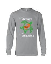 I wear Orange for my Husband Long Sleeve Tee thumbnail