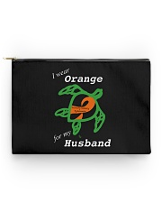 I wear Orange for my Husband Accessory Pouch - Standard thumbnail