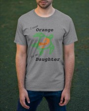 I wear Orange for my Daughter b Classic T-Shirt apparel-classic-tshirt-lifestyle-front-42