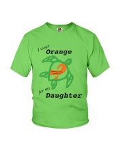 I wear Orange for my Daughter b Youth T-Shirt thumbnail