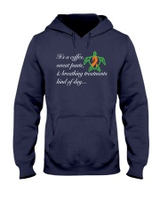 Coffee-Sweatpants-Breathing Treatment kind of Day Hooded Sweatshirt thumbnail