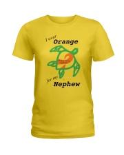 I wear Orange for my Nephew b Ladies T-Shirt thumbnail