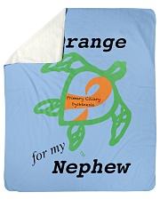 """I wear Orange for my Nephew b Sherpa Fleece Blanket - 50"""" x 60"""" thumbnail"""