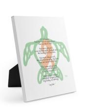 PCD Haiku Easel-Back Gallery Wrapped Canvas tile