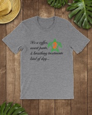 Coffee-Sweatpants-Breathing Treatment kind of Day Classic T-Shirt lifestyle-mens-crewneck-front-18