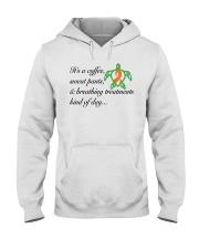 Coffee-Sweatpants-Breathing Treatment kind of Day Hooded Sweatshirt thumbnail