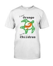 I wear Orange for my Children b Premium Fit Mens Tee thumbnail