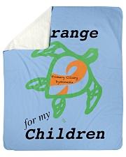 "I wear Orange for my Children b Sherpa Fleece Blanket - 50"" x 60"" thumbnail"