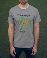 I wear Orange for my Son b Classic T-Shirt apparel-classic-tshirt-lifestyle-front-42