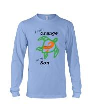 I wear Orange for my Son b Long Sleeve Tee thumbnail