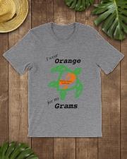 I wear Orange for my Grams b Classic T-Shirt lifestyle-mens-crewneck-front-18