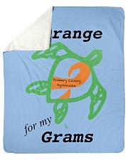 """I wear Orange for my Grams b Sherpa Fleece Blanket - 50"""" x 60"""" thumbnail"""