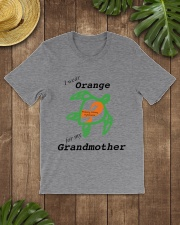 I wear Orange for my Grandmother b Classic T-Shirt lifestyle-mens-crewneck-front-18