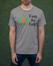 Keep the Fork b Classic T-Shirt apparel-classic-tshirt-lifestyle-front-42