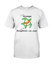 I wear Orange for my Daughter-in-law b Premium Fit Mens Tee thumbnail