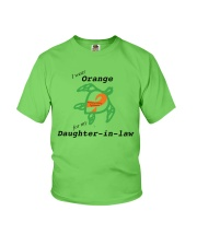 I wear Orange for my Daughter-in-law b Youth T-Shirt thumbnail