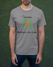 I wear Orange for my Mother-in-law b Classic T-Shirt apparel-classic-tshirt-lifestyle-front-42
