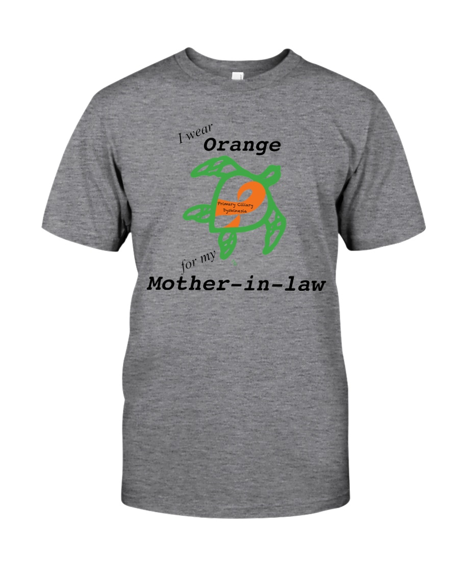 I wear Orange for my Mother-in-law b Classic T-Shirt