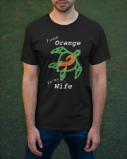 I wear Orange for my Wife Classic T-Shirt apparel-classic-tshirt-lifestyle-front-42