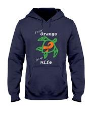 I wear Orange for my Wife Hooded Sweatshirt thumbnail