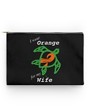 I wear Orange for my Wife Accessory Pouch - Standard thumbnail