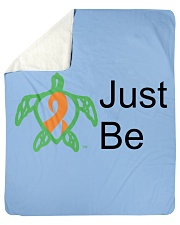 Just Be b Sherpa Fleece Blanket tile