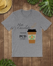 Hot Chocolate because PCD is Hard B Classic T-Shirt lifestyle-mens-crewneck-front-18