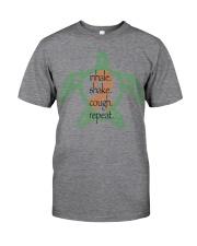 Turtle Rhythm B Classic T-Shirt front