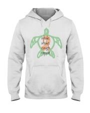 Turtle Rhythm B Hooded Sweatshirt thumbnail