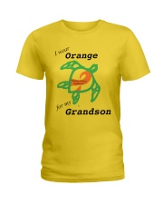 I wear Orange for my Grandson b Ladies T-Shirt thumbnail
