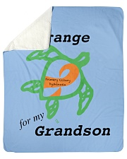 "I wear Orange for my Grandson b Sherpa Fleece Blanket - 50"" x 60"" thumbnail"