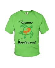 I wear Orange for my Boyfriend b Youth T-Shirt thumbnail