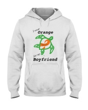 I wear Orange for my Boyfriend b Hooded Sweatshirt thumbnail