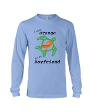 I wear Orange for my Boyfriend b Long Sleeve Tee thumbnail