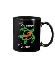 I wear Orange for my Aunt Mug thumbnail