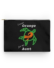 I wear Orange for my Aunt Accessory Pouch - Standard thumbnail
