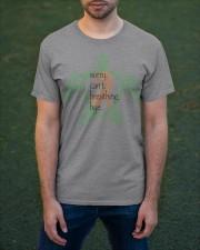 Sorry Breathing b Classic T-Shirt apparel-classic-tshirt-lifestyle-front-42