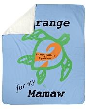 "I wear Orange for my Mamaw b Sherpa Fleece Blanket - 50"" x 60"" thumbnail"