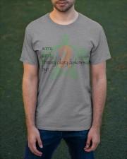 Sorry PCD b Classic T-Shirt apparel-classic-tshirt-lifestyle-front-42